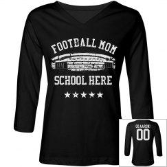 Old School Football Mom