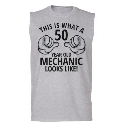 50 year old Mechanic