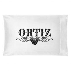 ORTIZ. Pillow case