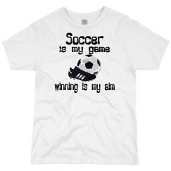 Soccer is my Game