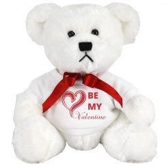 Be My Valentine Teddy Bear