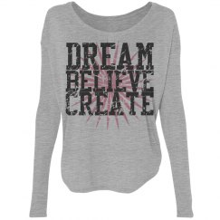 dream believe create