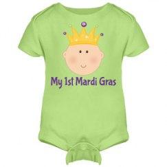 My 1st Mardi Gras Baby King