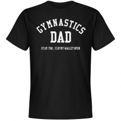 Gymnast Dad Flips His Wallet Open
