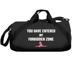 You entered my forbidden zone