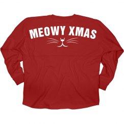 Meowy Xmas Kitty Cat Jersey