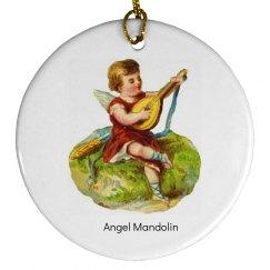 Angel Mandolin Ornament