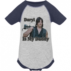 Infant Daryl Is My Daddy Vintage Onesie