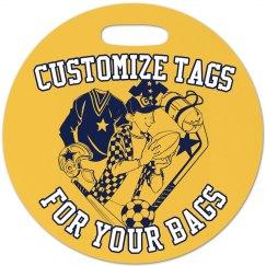 Custom Sports Tag