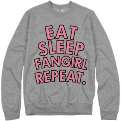 Eat, sleep, fangirl...