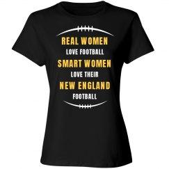 Smart women love New England football