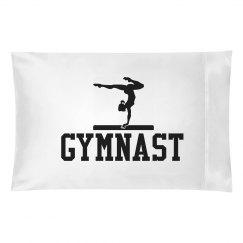 Gymnastics Pillow Case