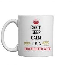 FIREFIGHTER WIFE MUG