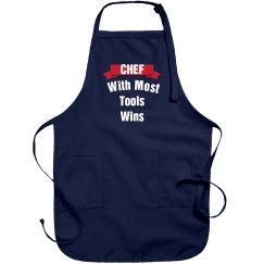 Chef with most tools wins