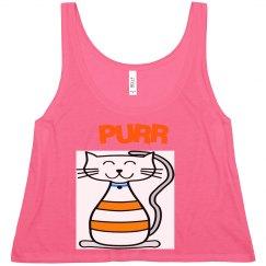 Kitty Cat Crop Top