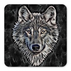 A Graceful WOLF Looks Into Your Eyes black
