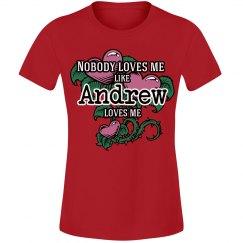 love me like Andrew