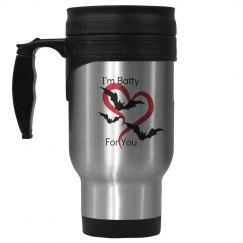 Batty For You Travel Mug