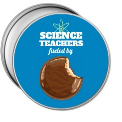 Science Cookie Tin