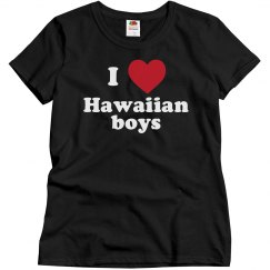 I love Hawaiian boys!