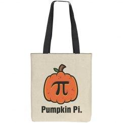 Pumpkin Pi Bag