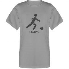 I bowl.