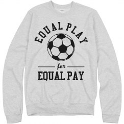 Equal Play Equal Pay WNST Soccer