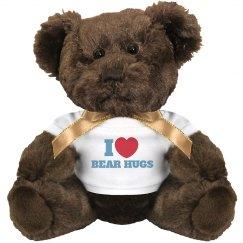I love Bear Hugs