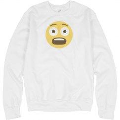 Fearful Face Unisex Sweatshirt