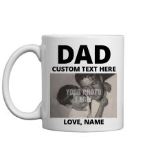 Custom Dad Mug For Father's Day
