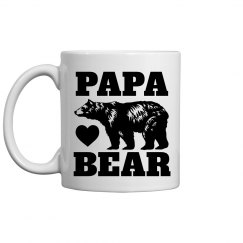 Papa Bear Father's Day Customizable