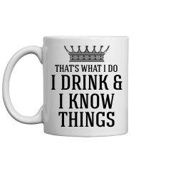 House Lannister I Drink Dad Gift
