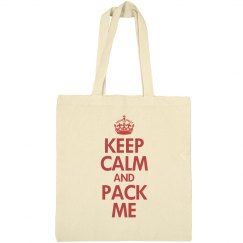 Keep calm and pack me