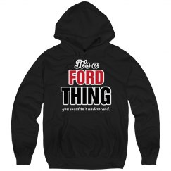 It's a Ford thing
