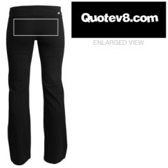 Quotev8.com Yoga Pants