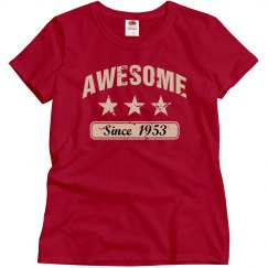 Awesome since 1953