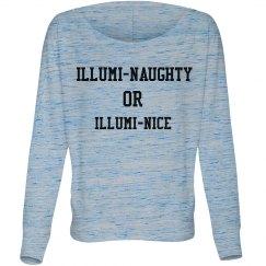 Illumi-naughty long sleeve