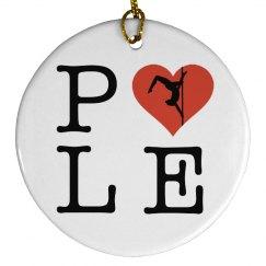 Pole Love Ornament