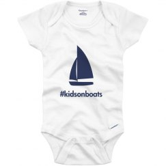 Kids on Boats, onesie