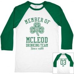 McLeod Drinking Team
