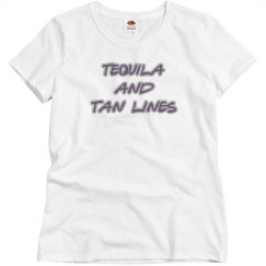 tequila and tan lines tee