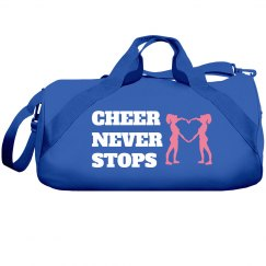 Cheer never stops