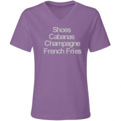 Shoes & Champagne VNeck