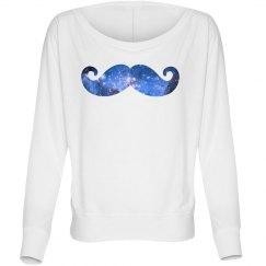 A Mustache Galaxy