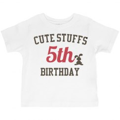 Cute stuffs 5th birthday