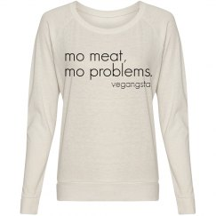 mo meat... slouchy top