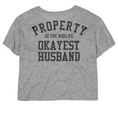 Property of the world's okayest husband