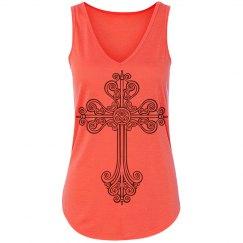 Trendy Cross Design