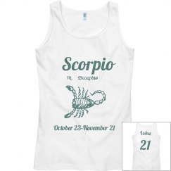 Scorpio tank