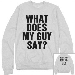 What Does Boyfriend Say?